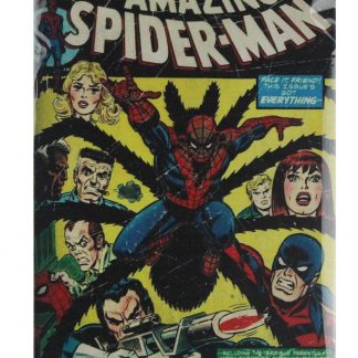 Marvel comic group Amazing Spider-man tin metal sign 0758a Comics Amazing