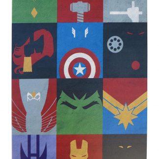 Superheroes Signs Comics tin metal sign 0765a Comics art prints sale