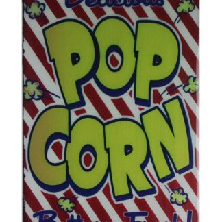 Delicious Popcorn buttery fresh tin metal sign 0795a Metal Sign bar pub signs