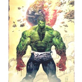 Marvel Comics Super Hero Incredible Hulk metal sign 0807a Comics comics