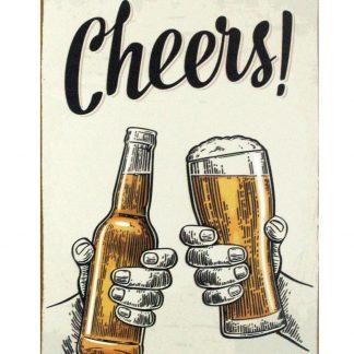 Cheers beer bar club tin metal sign 0824a Beer Wine Liquor bar