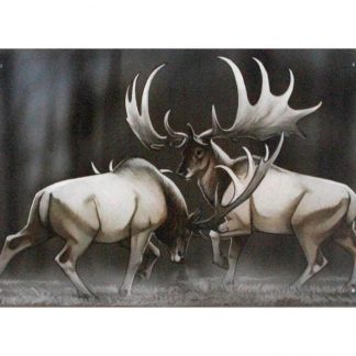 moose animal tin metal sign 0837a Metal Sign animal