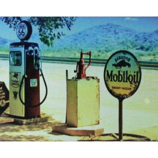 Gargoyle Mobiloil gas station garage metal sign 0856a Gas Oil Automotive brewery bar vintage metal signs