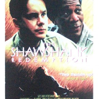 Shawshank Redemption Movie Poster tin metal sign 0871a Metal Sign home & deco