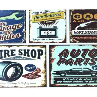 My garage rules GAS Tire Shop Auto Parts tin metal sign 0906a Gas Oil Automotive auto