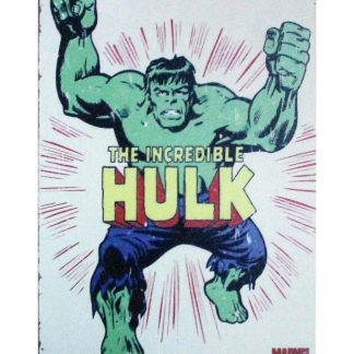 Marvel comic incredible Hulk tin metal sign 0914a Comics buy home decor