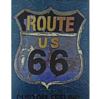 American old route US 66 custom feeling sign 0916a Gas Oil Automotive American