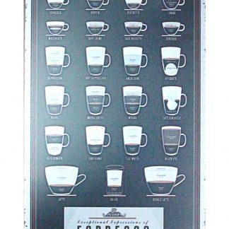 Espresso cafe bar kitchen tin metal sign 0923a Metal Sign bar
