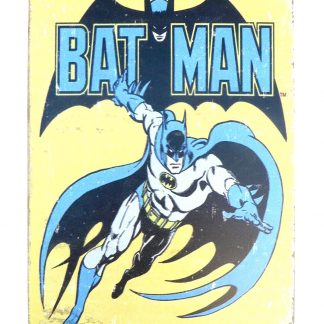 Batman Marvel DC Comics tin metal sign 0932a Comics Batman
