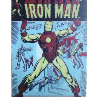 Marvel Comics Invincible Iron Man Birth Of Power sign 0934a Comics Birth