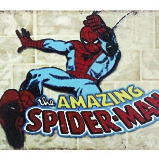 Marvel comic Amazing Spider-Man tin metal sign 0963a Comics Amazing