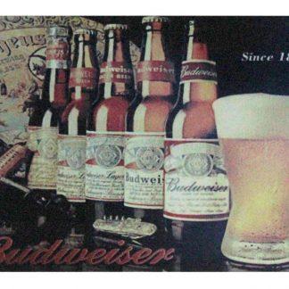 Budweiser beer Liquor Shop Bar tin metal sign 0970a Beer Wine Liquor bar