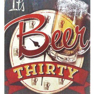Its Beer Thirty Bar Cave tin metal sign 0978a Beer Wine Liquor bar