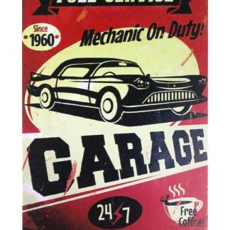 Mechanic On Duty Garage tin metal sign 1002a Metal Sign bedroom style ideas