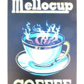 Mellocup Coffee kitchen store tin metal sign 1019a Metal Sign at home wall art