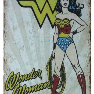 DC Comics Wonder Woman Super Hero Lasso Red Boots tin sign 1046a Comics Boots