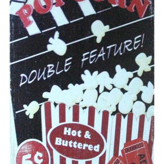 Popcorn theater candy store tin metal sign 1054a Metal Sign candy
