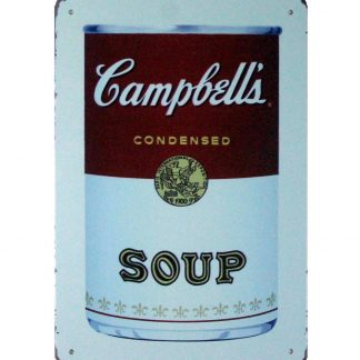 Campbell's Condensed Soup kitchen metal sign 1056a Metal Sign Campbell's