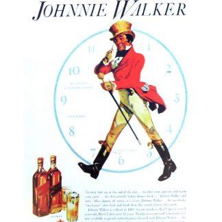 Johnnie Walker Whiskey Pub Brewery metal sign 1064a Metal Sign brewery