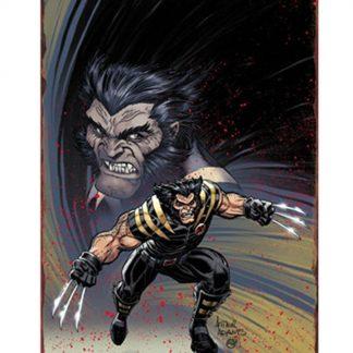 Marvel comics Wolverine metal tin sign b06-Wolverine-4 Comics affordable art prints