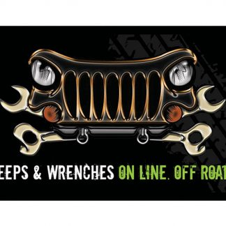 jeep wrenches on line off road metal tin sign b07-Jeep-14 Metal Sign brewery pub plaque engraving