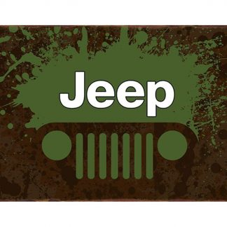Vintage Jeep garage auto shop metal sign b08-Jeep-23 Metal Sign auto shop