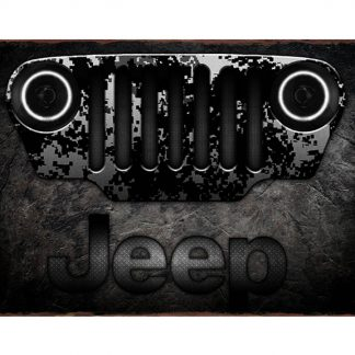 Vintage Jeep garage auto shop metal sign b08-Jeep-24 Metal Sign art prints