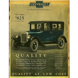 vintage Chevrolet old car ads metal tin sign b10-Chevrolet-34 Gas Oil Automotive ads