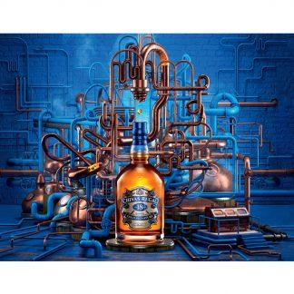 Chivas Regal Scotch whisky bar tavern tin sign b21-Chivas-10 Beer Wine Liquor bar