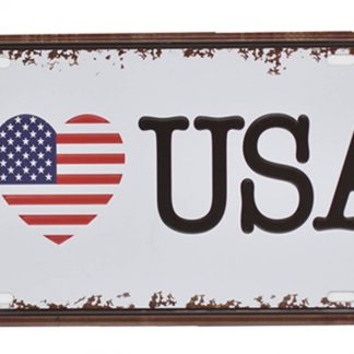 I love USA metal tin sign b50-4 Metal Sign home decor places