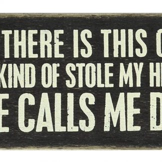 girl stole my heart she calls me dad metal tin sign b53-A-3 Metal Sign cabin lounge wall art