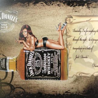 sexy girl Jack Daniels Old Time Whiskey tin sign   less metalsign01-3 Beer Wine Liquor farm house wall art