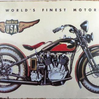 USA antique motorcycle bike tin sign bedroom  metalsign03-3 Gas Oil Automotive antique