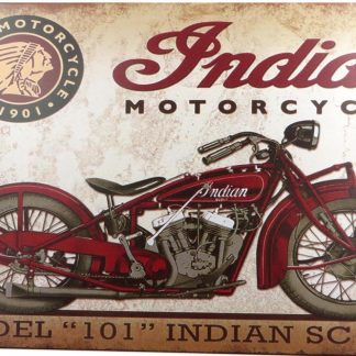 Indian motorcycle tin sign  wall hangings metalsign03-4 Gas Oil Automotive clearance home decor