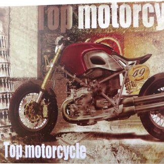 top motocycle tin sign living room  sets metalsign04-1 Metal Sign living room