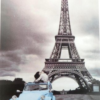 vintage car Eiffel Tower tin sign pretty bedroom ideas metalsign05-3 Metal Sign bedroom