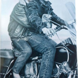 lover couple motorcycle tin sign vintage posters  walls metalsign05-6 Gas Oil Automotive couple