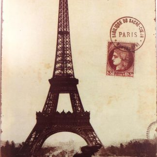 Eiffel Tower tin sign big wall posters  bedroom metalsign07-7 Metal Sign bedroom
