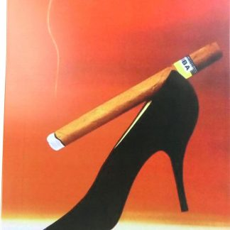 cigar high heel tin sign vintage wall posters metalsign08-3 Metal Sign cigar