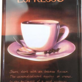 Espresso tin sign wall d??cor metalsign10-6 Metal Sign d??cor