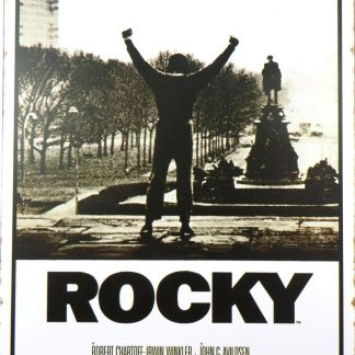 Rocky – Movie Score Arms Up tin sign artwork  ation metalsign11-1 Metal Sign -