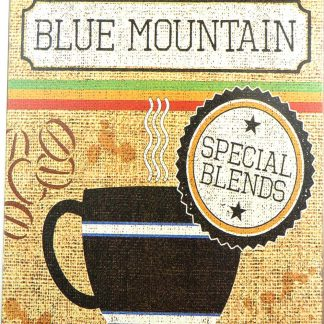 Jamaica Blue Mountain coffee tin sign cool art  sale metalsign12-2 Metal Sign art