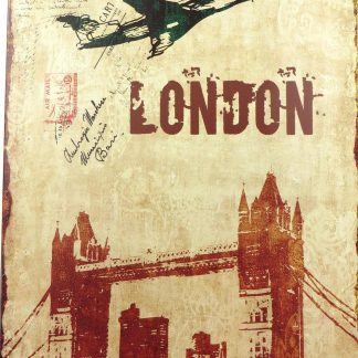 London Britian UK tin sign decorative  metalsign12-6 Metal Sign bedroom inspiration