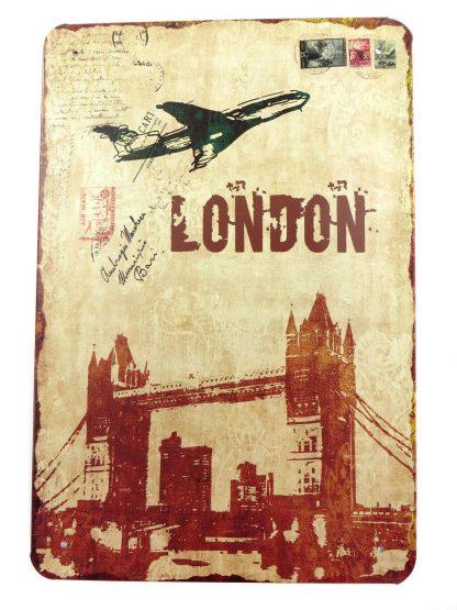 London Britian UK tin sign decorative  metalsign12-6 Metal Sign bedroom inspiration