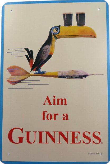 Aim  a Guinness tin sign decor shop metalsign14-1 Beer Wine Liquor & decor