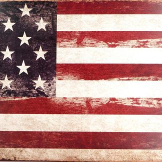 USA American Flag patriotic tin sign shop  metalsign14-5 Metal Sign American
