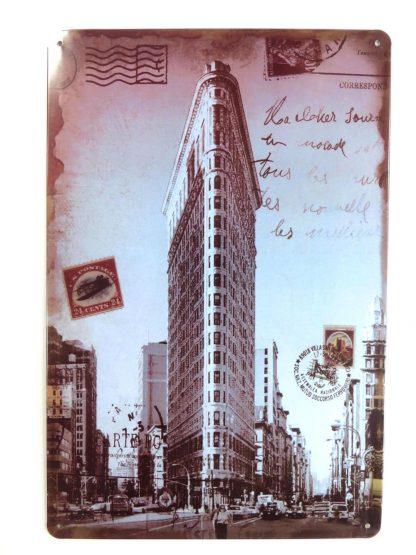 retro postcard tin sign room decoration design metalsign14-6 Metal Sign art decor