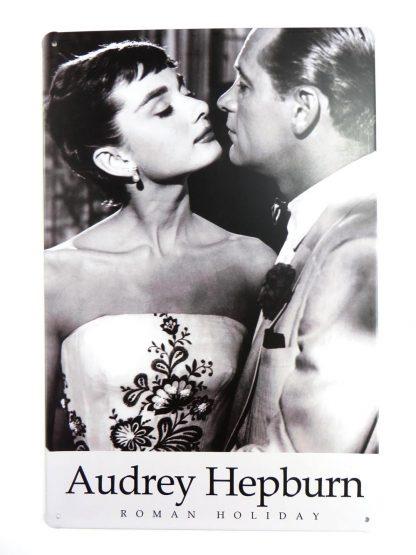 Audrey Hepburn tin sign wall accessories  living room metalsign15-1 Metal Sign accessories