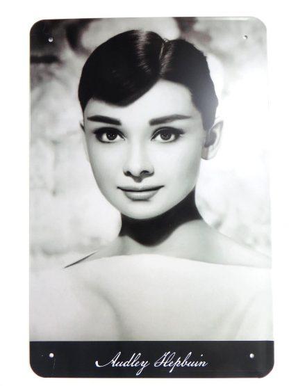 Audrey Hepburn tin sign    metalsign15-3 Metal Sign Audrey Hepburn