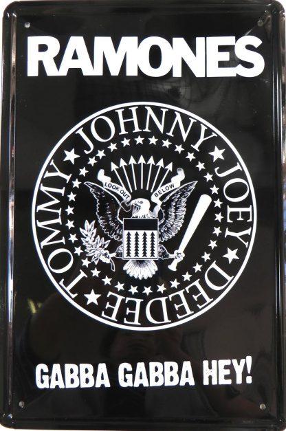 Ramones Music Memorabilia tin sign  art  metalsign16-6 Metal Sign art